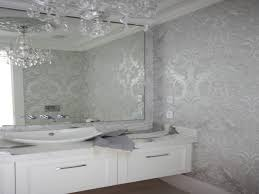 bathroom silver powder room mirror design bathrooms powder room