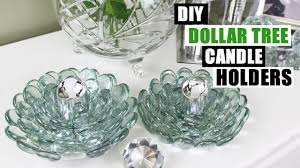 diy dollar tree glam candle holders dollar store diy candle