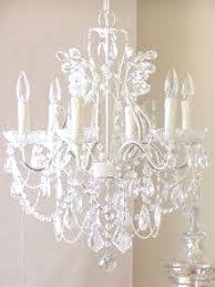 White Nursery Chandelier Shabby Chic Crystal Chandeliers With 75 Of The Best Home