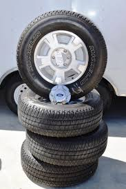 ford f150 rims 17 inch ford f150 6 lug mich ltx at2 17in oem factory wheels rims ford