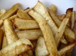 cuisiner du panais frites de panais au four recette ptitchef