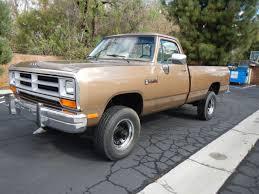 dodge ram 89 1989 dodge ram 250 turbo diesel 4x4 with 52000 auto ac power