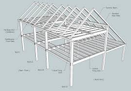 saltbox roof framing sheds storage shed plans architecture plans