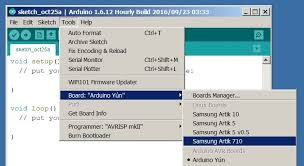 artik documentation arduino ide