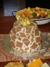 cakes by sheree giraffe baby shower cake for paige