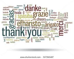 thank you word cloud background all stock vector 572280451