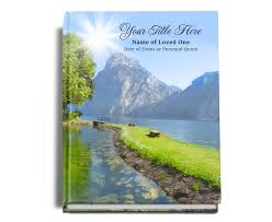 guest sign in book hardcover bind guest books 8x10 reflection bind