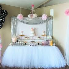 standard party table size size nbsp this is a custom made order so you can select your own
