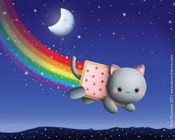 wallpaper illustration cat animals food night planet sky