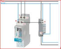 electrical diagrams contactor u0026 clock timer