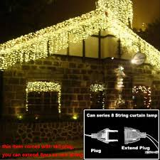bright led outdoor christmas lights new 100 meter 800 led christmas lights 8 modes for seasonal
