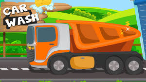 dump truck car wash youtube