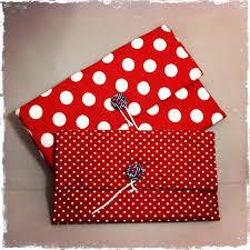 trousse de sac pochette de sac petit pois rouge trousses par patapochette