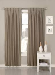 Pinch Pleated Lined Drapes Ultimate Luxury Palace Solid Semi Sheer Pinch Pleat Curtain Panels