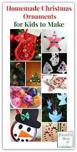 christmas ornaments for kids make