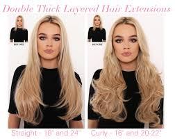layered extensions new in thick layered hair extensions lullabellz