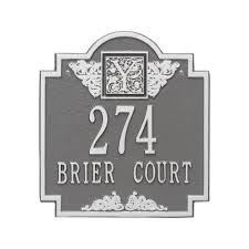 monogram plaques whitehall products monogram standard wall square pewter silver 2