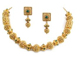 gold antique necklace sets images 80 75g 22kt gold antique necklace set houston texas usa jpg