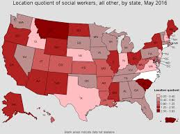 Average Rent By State Social Workers All Other