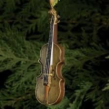 music instrument ornament violin christmas irish celtic