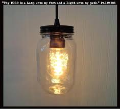 Jar Pendant Light Jar Pendant Light Mason Jar Pendant Light New Quart Clear The Lamp