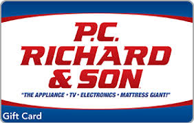 Buy Giftcards With Paypal by Buy P C Richard And Son Egift Cards With Paypal