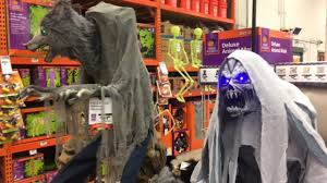home depot halloween 2017 in store footage of new animatronic