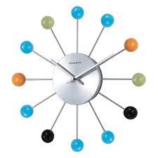 george nelson piccolo ball 13 in wall clock walmart com