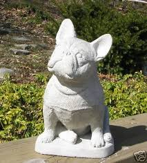 concrete bulldog statue monument a beautiful statue