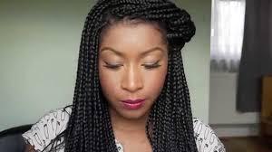 big box braids hairstyle ideas