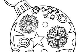 ornaments coloring pages printable just colorings