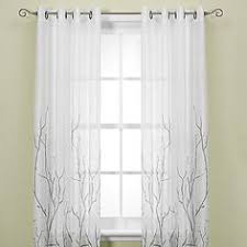 Silver Window Curtains Exclusive Home Silk Grommet Curtain Panel Pair Master
