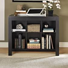 Oak Bookcases With Drawers Altra Black Oak Parsons Style Desk With Drawer And Bookcase