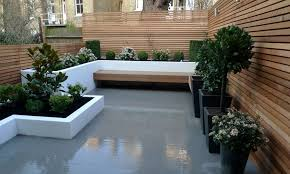 contemporary garden design for front yard landscaping