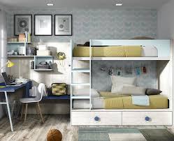 chambre lit superposé chambre enfant composé d un lit superposé et d un bureau meubles