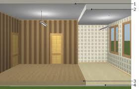 level floor ceilings and floors