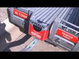 anyone transport cct in uhaul cargo trailer have tips victory