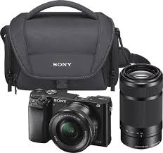 sony a6000 black friday deals sony alpha a6000 mirrorless camera with 16 50mm and 55 210mm lens