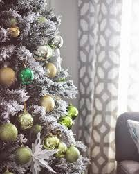 frosty flocked christmas tree treetopia