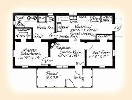 adobe house plans adobe house plans adobe southwestern style house plan 3