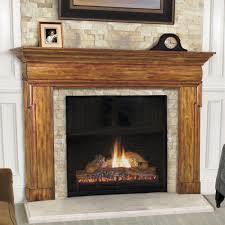 rustic fireplace mantels wood home fireplaces firepits how to