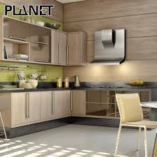 painting wood laminate kitchen cabinets modern indoor finish wood grain laminate gray painting kitchen cabinet pantry cabinet with side board buy factory sale customized wood laminate