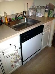 dishwasher cabinet home depot sink dishwasher combo popular fine under home depot within plans 11
