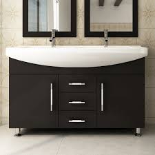 caroline 72x22 double sink bathroom vanity in espresso on sale