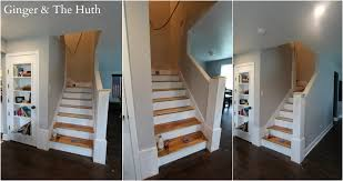 Laminate Flooring For Stairs Bullnose Diy Staircase Remodel