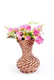 liubian small basket crafts rattan flower pot vase home decoration