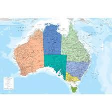 wall map of australia wallpaper mural 158cm x 232cm feature wall map of australia wallpaper mural 158cm x 232cm