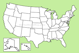 Blank Map Of Spain by Usa Blank Map