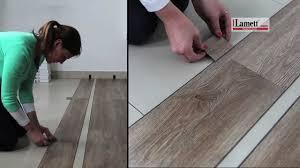 Lamett Laminate Flooring Reviews Installatie Lamett Click Vinyl Youtube