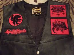 motorcycle waistcoat satanic warmaster true werewolf archgoat beherit mutiilation